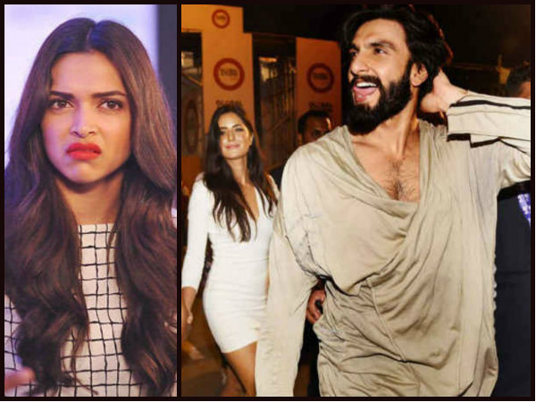 Ranveer Is Tired Of Reading Stories About Deepika & Katrina