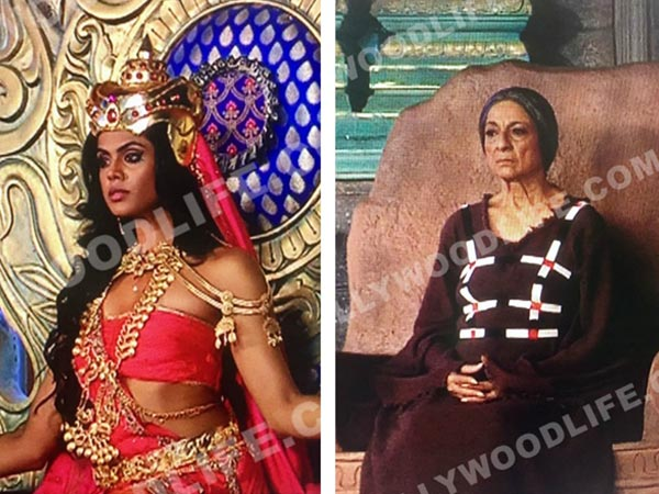 Karthika As Devasena; Tanuja As Sivagami
