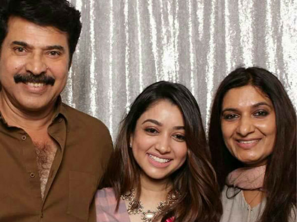 Mammootty & Sulfath With Amaal