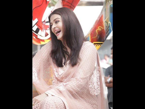 Aishwarya Is happy To Join This Movement