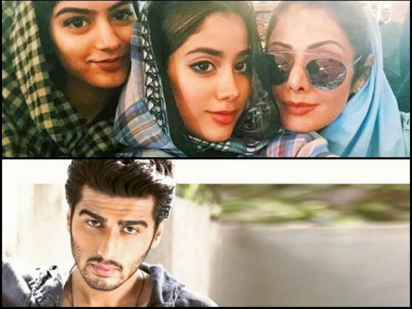Arjun Kapoor Reveals The BITTER TRUTH About His Relationship With Sridevi's Daughters Jhanvi-Khushi