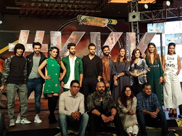 Rohit With His KKK 8 Team