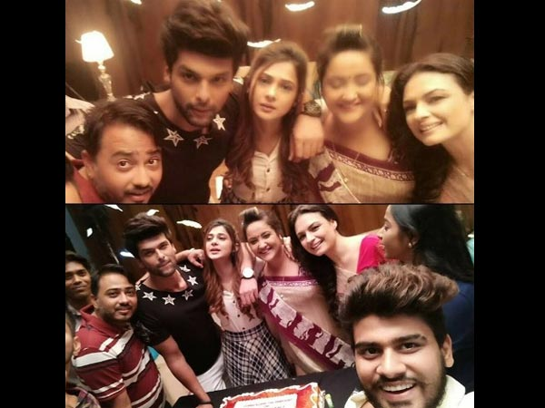 Kushal With His Beyhadh Team