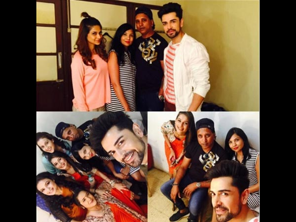 Piyush With Beyhadh Team & Durban Family