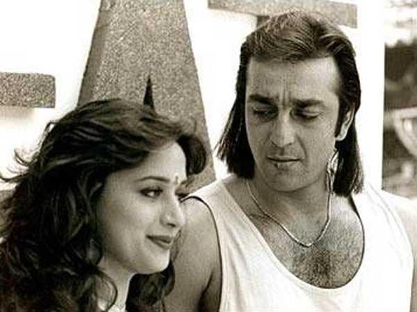 Image result for sanjay dutt madhuri