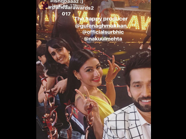 Ishqbaaz Actors With The Happy Producer