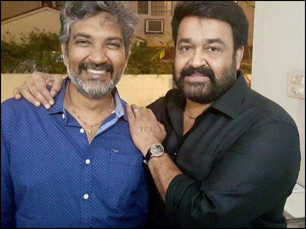 Rajamouli Is A Huge Fan Of Mohanlal