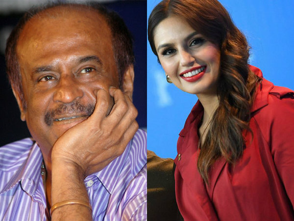Huma Qureshi is Rajinikanth's heroine