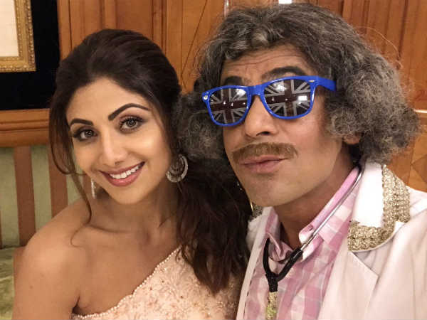 Shilpa Shetty Thanks Sunil For Making People Laugh; Are ...