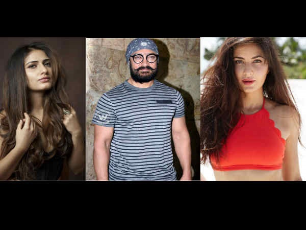 A Love Triangle Between Aamir, Fatima And Katrina?