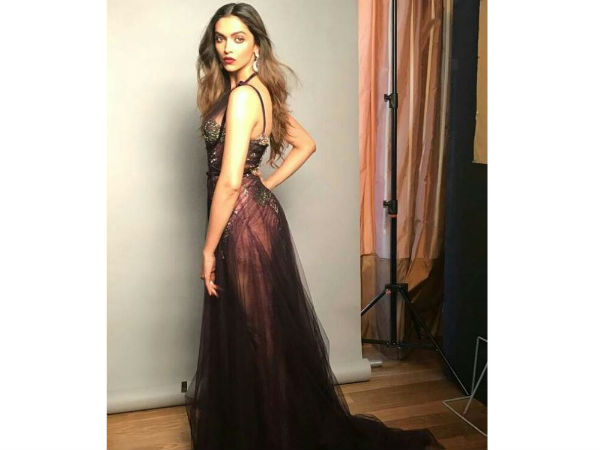 Deepika's Look For The Day