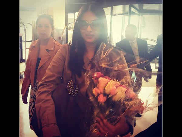 Aishwarya Arrived In Cannes On May 18