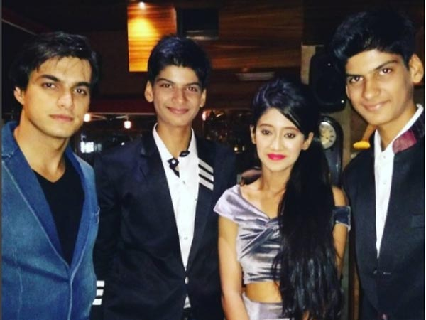Anmol With Shivangi & Mohsin