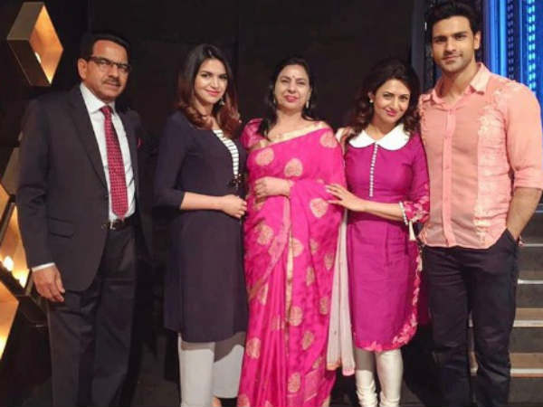 Divyanka's In-Laws Were On The Sets