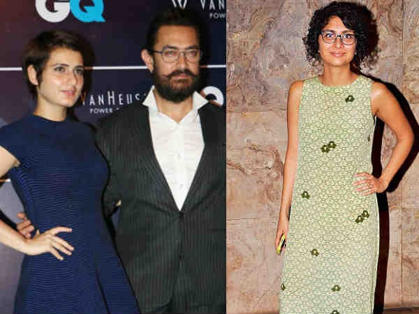 Rumours About Kiran Being Upset With Aamir's Closeness With Fatima