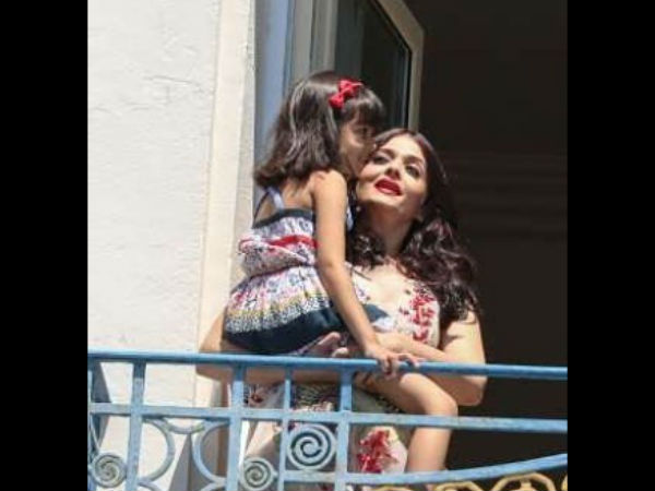 Aish-Aaradhya's Unseen Picture