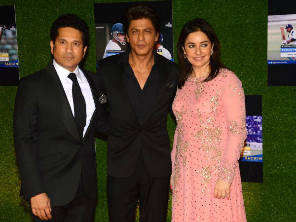 Sachin-Anjali With SRK