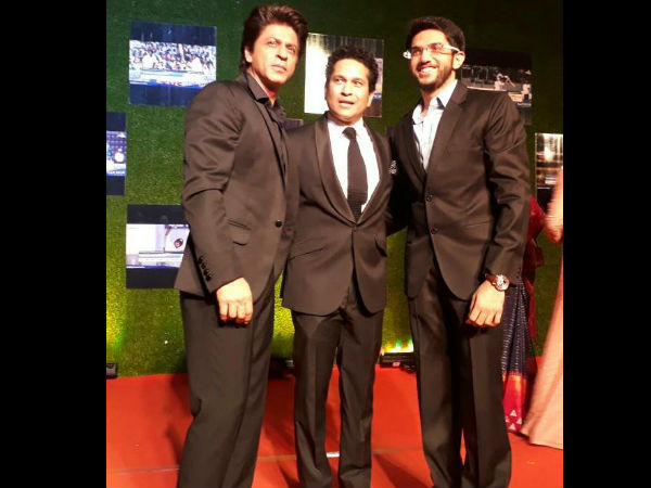 SRK, Sachin With Aaditya