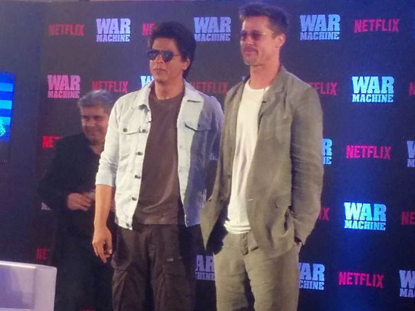 Brad Pitt in Mumbai to promote 'War Machine'