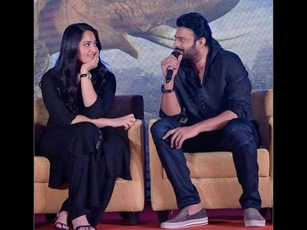 Anushka & Prabhas To Team Up Again For Saaho & Bhagmati?