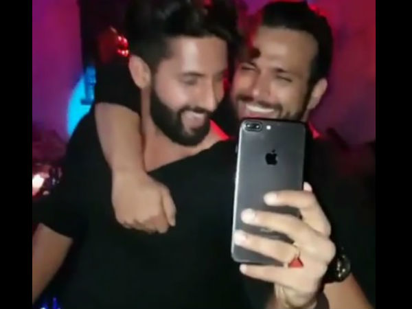Ravi & Rithvik Dancing For Sargun's Movie Song