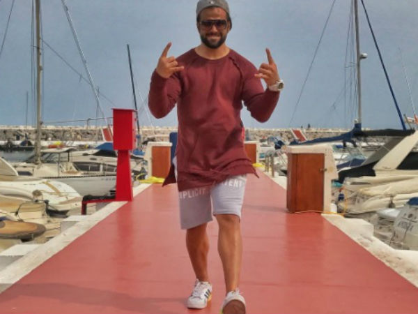 Rithvik Enjoying In Spain