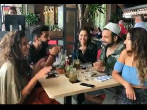 Rithvik With Other Katron Ke Khiladis