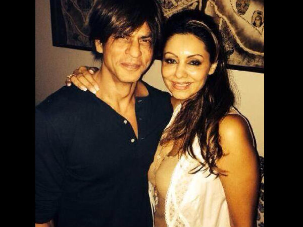 SRK-Gauri Refused To Be Clicked Together