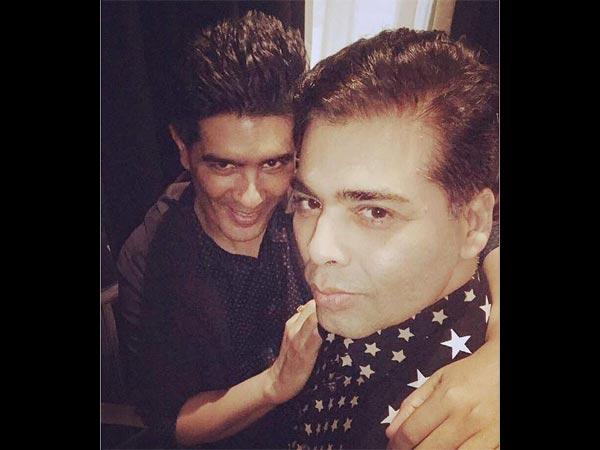 Manish & KJo