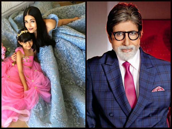 Recently, Big B Had Gushed Over Aish-Aaradhya's Cannes Outing