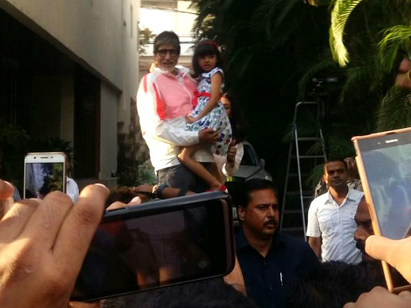 Aishwarya Rai's Little One Was Disturbed! Aaradhya Bachchan Got Really Upset With Amitabh Bachchan