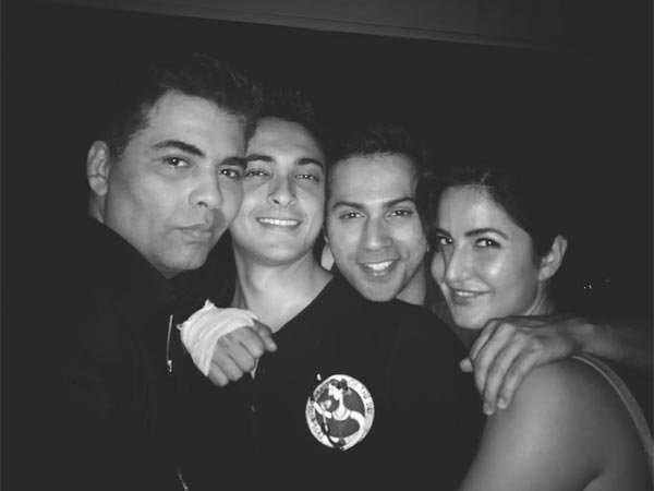 In Pic: Katrina At KJo's Party