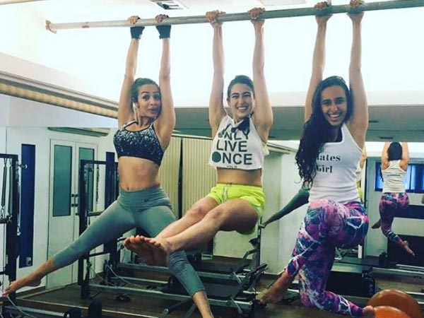 Image result for malaika arora workout images