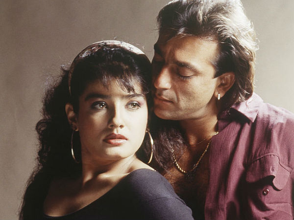 Raveena Had A Huge Crush On Sanjay Dutt