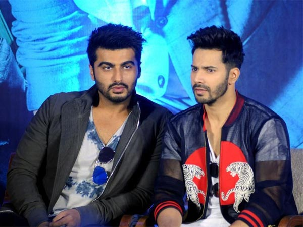 Varun Passed A Comment About Arjun's Movie