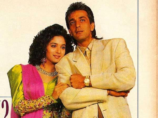 love affair of Madhuri Dixit and Sanjay dutt