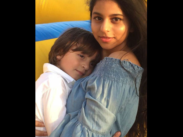 Did You Miss The Adorable Picture Of Suhana & AbRam Shared By Gauri Khan?