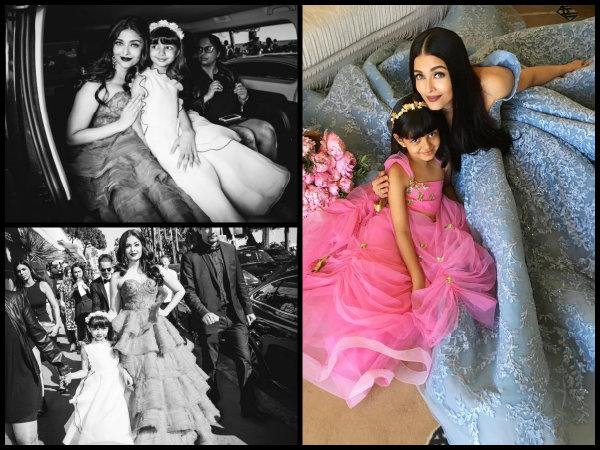 NEW PICTURE! Aishwarya Rai & Aaradhya Bachchan's Fairytale Kinda Photoshoot From Cannes 2017!
