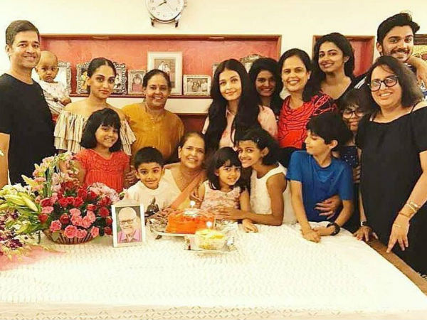 Sweet Pictures: Aishwarya Rai Bachchan & Aaradhya Celebrate Mother Vrinda Rai's Birthday