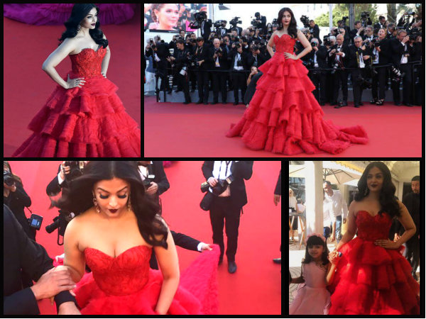 Cannes Day 4: Aishwarya Rai Bachchan 's Second Outing At The Red Carpet Is Red Hot!