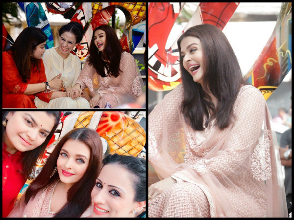 WE MISSED THIS SMILE! Aishwarya Rai Bachchan Spotted Laughing Her Heart Out & Twitterati Go Berserk!