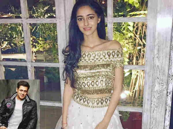Salman Khan To Launch One More Star Kid In Bollywood? It's Chunky Pandey's Daughter Ananya!