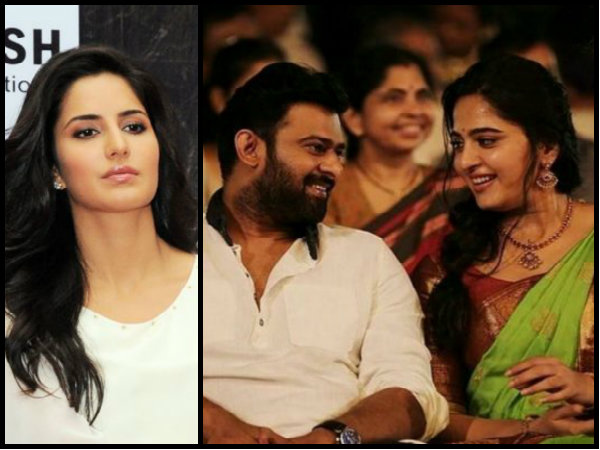 HE LIKES HER! Baahubali Prabhas REJECTS Katrina Kaif For Alleged GF Anushka Shetty?