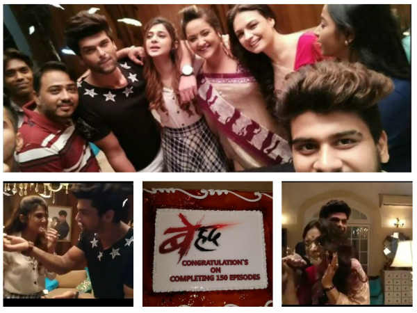 Beyhadh Completes 150 Episodes; Jennifer Winget, Kushal Tandon & Others Celebrate (PICS)