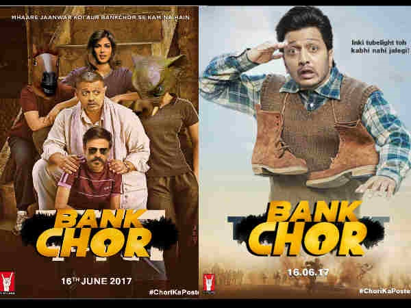 BEWARE Aamir And Salman Khan! This 'Bank Chor' Is Stealing Away Your Film Posters!