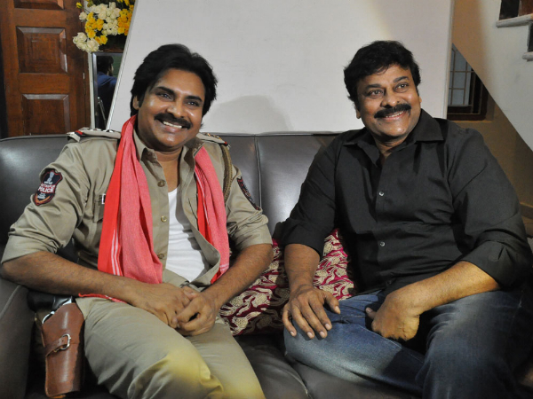 Contain Your Excitement As Chiranjeevi-Pawan Kalyan Combo Is Set ...