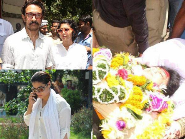 Reema Lagoo's Funeral: Aamir Khan, Kajol, Rishi Kapoor & Other Celebs Pay Their Last Respects