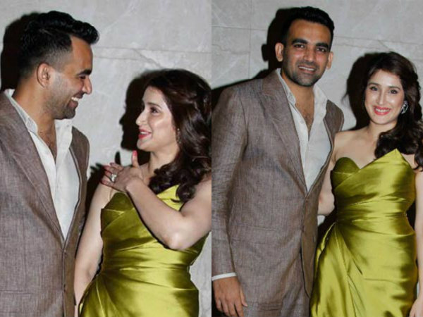 View Pictures! Zaheer Khan Gets Engaged To Sagarika Ghatge! Virat & Anushka Attend The Engagement