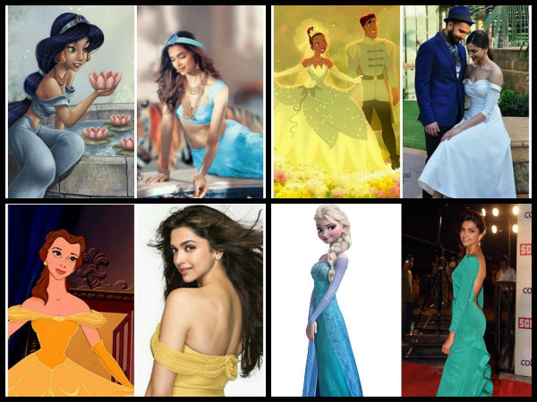 From Cinderella To Jasmine, Deepika Padukone In An Avatar Of All The Disney Princess [Pictures]