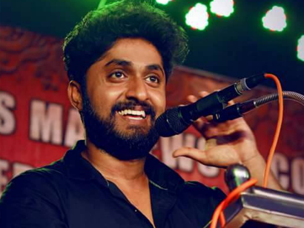 Dhyan Sreenivasan With Goodalochana!